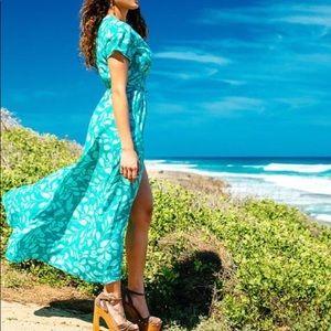 Hina Hawai'i Wrap Dress